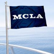 MCLA Trailblazers Boat and Mini Flag