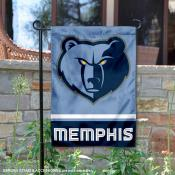Memphis Grizzlies Double Sided Garden Flag