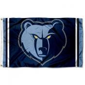 Memphis Grizzlies Grizzly Head Flag
