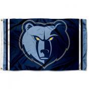 Memphis Grizzlies Grizzly Head Flag