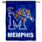 Memphis Tigers Double Sided House Flag
