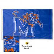 Memphis Tigers Nylon Embroidered Flag