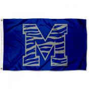 Memphis Tigers Tiger Striped Flag