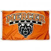 Mercer University Bears 3x5 Flag