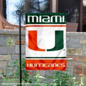 Miami Canes Garden Flag