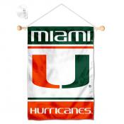 Miami Canes Window and Wall Banner