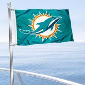 Miami Dolphins Boat and Nautical Flag