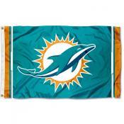 Miami Dolphins Logo Flag
