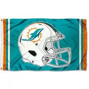 Miami Dolphins New Helmet Flag