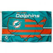 Miami Dolphins USA Country Flag