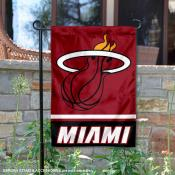 Miami Heat  Garden Flag