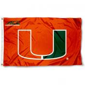 Miami Hurricanes ACC Flag