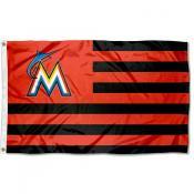 Miami Marlins Americana Nation Flag