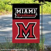 Miami Redhawks Garden Flag