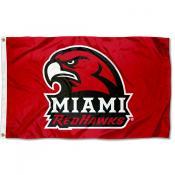 Miami Redhawks New Hawk Flag