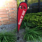 Miami Redhawks Small Feather Flag
