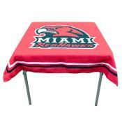 Miami Redhawks Table Cloth