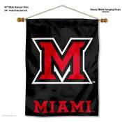 Miami Redhawks Wall Banner