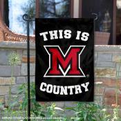 Miami University Country Garden Flag