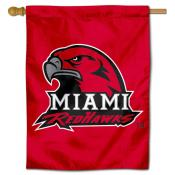 Miami University House Flag