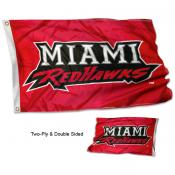 Miami University Redhawks Flag