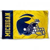 Michigan Football Flag