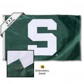 Michigan State S Small 2'x3' Flag
