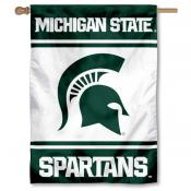 Michigan State Spartans Double Sided Banner