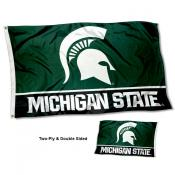 Michigan State Spartans Double Sided Flag
