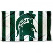 Michigan State Spartans Stripe Out Flag