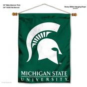 Michigan State Spartans Wall Banner