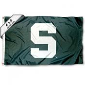 Michigan State University 4x6 Flag