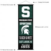 Michigan State University Decor and Banner