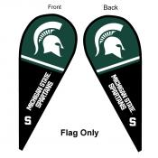 Michigan State University Feather Flag