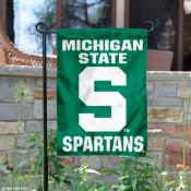 Michigan State University Garden Flag