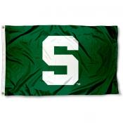 Michigan State University Green Flag