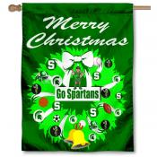 Michigan State University Holiday Flag