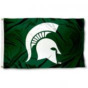 Michigan State University Spartan Flag