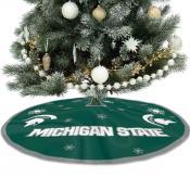 Michigan State University Spartans Christmas Tree Skirt
