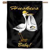 Michigan Tech Huskies New Baby Flag