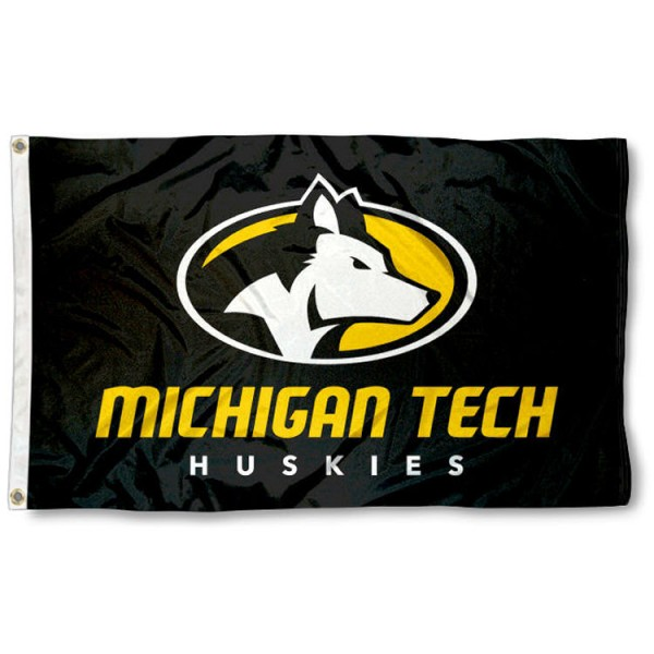 Michigan Tech University Flag is made of 100% nylon, offers quad stitched flyends, measures 3x5 feet, has two metal grommets, and is viewable from both side with the opposite side being a reverse image. Our Michigan Tech University Flag is officially licensed by the selected college and NCAA