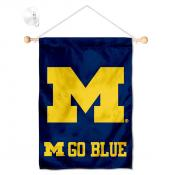 Michigan Wolverines Banner with Suction Cup