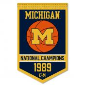 Michigan Wolverines Basketball National Champions Banner