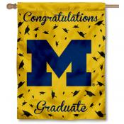 Michigan Wolverines Congratulations Graduate Flag
