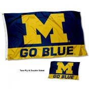 Michigan Wolverines Double Sided Flag