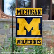 Michigan Wolverines Garden Flag