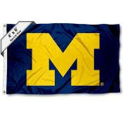 Michigan Wolverines Large 4x6 Flag