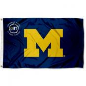 Michigan Wolverines Operation Hat Trick Flag