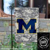 Michigan Wolverines Operation Hat Trick Garden Flag