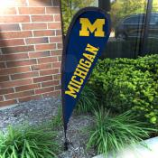 Michigan Wolverines Small Feather Flag